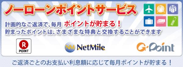 新生パーソナルローン株式会社 ノーローンポイントサービス